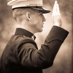 USMC Officer Commissioning Ceremony