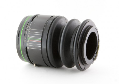 DIY tilt shift lens rear