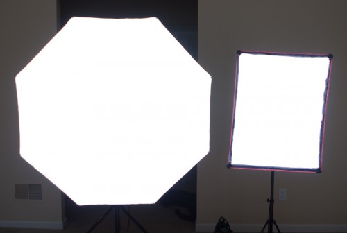 softbox comparrison, Rotalux Amvona