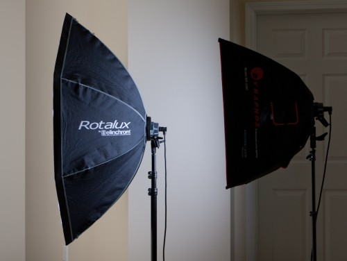 Rotalux and Amvona softbox