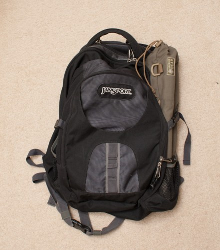 camera backpack bag padded insert tripod