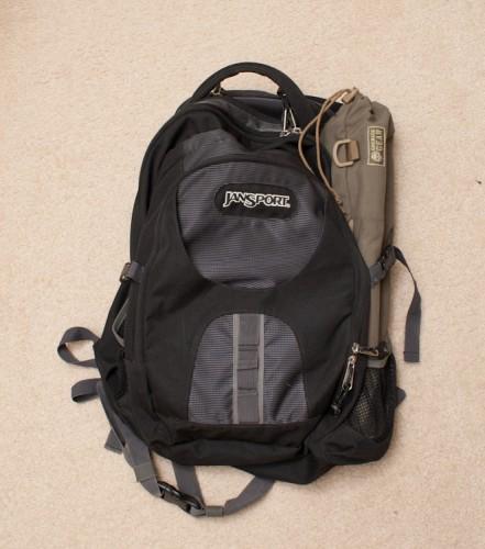 camera backpack bag padded insert tripod
