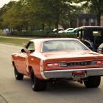 1969 Dodge Coronet cruising Woodward Dream Cruise