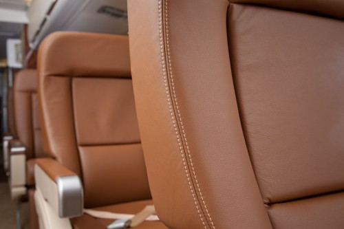VIP jet interior MD-81